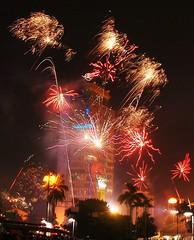 New Year 2011 in Jakarta (Tempo Dulu) Tags: fireworks jakarta newyear2011