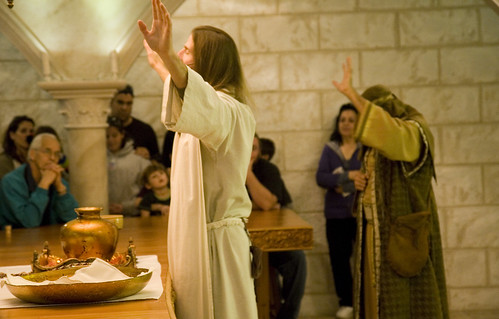 Listen up! Jesus be prayin'