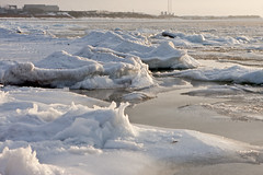 Ice on resund in Strandbaden (Jimmy Svensson) Tags: winter snow ice skne resund kullabygden strandbaden iceonresund