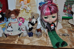 """1/365 Nanette """"Ho hum, looks like 2011 is starting off like 2010, Me Abandoned and ignored and sitting in some crazy doll lady's room"""""""