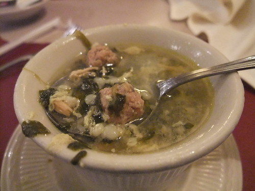 Italian Wedding Soup at TAT Ristorante