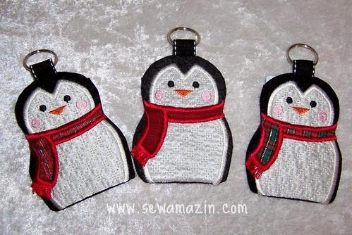 Penguin Card Holder Trio