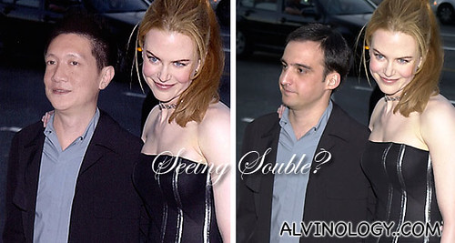 In fact, Jonal Chong even admitted he has never touched Nicole Kidman's