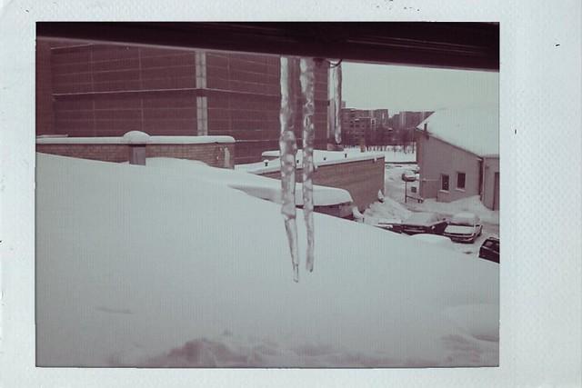 #3/365 | Žiema už ofiso lango