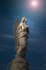 [フリー画像] 芸術・アート, 彫刻・彫像, 天使, 201101080500