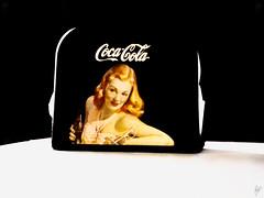 ... antique ... (Paco CT) Tags: barcelona spain napkin coke cocacola esp mesa 2010 servilleta servilletero santacolomadecervello pacoct