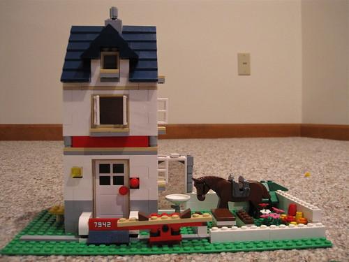 Mattey's Lego house