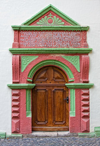 The latin door