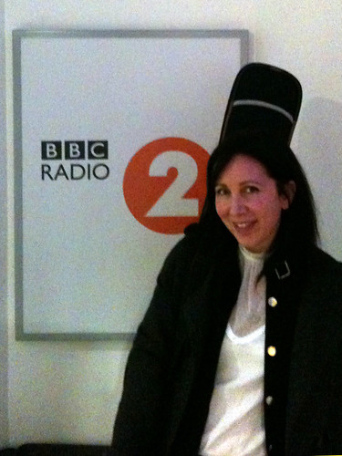 Michelle at the Beeb
