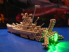 IMG_8045 - Space Battleship Yamato / Star Blazers Wave Motion Engine (Zen Style!) (tend2it) Tags: sculpture motion anime green art geometric ball cool ship geometry engine balls wave magnets zen laser spaceship yamato shape magnet spheres sculptures spacecraft magnetic buckyballs neodymium starblazers spacebattleshipyamato neocube magcube cybercube zenmagnets nanodots zenmagnet zenmanagnets wavemotionengine