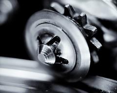 supersonic can opener (-liyen-) Tags: blackandwhite bw macro wheel canopener gearwheel d300 kenkoextensiontubes activeassignmentweekly bestofweek1 bestofweek2 bestofweek3 bestofweek4 bestofweek5 challengeyouwinner nikond300