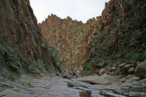 a serpentine canyon