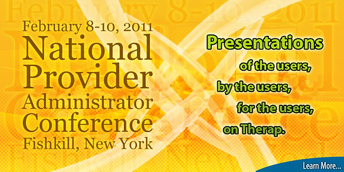 Splash image of National conference, Feb 8-10, 2011 Fishkill, Newyork