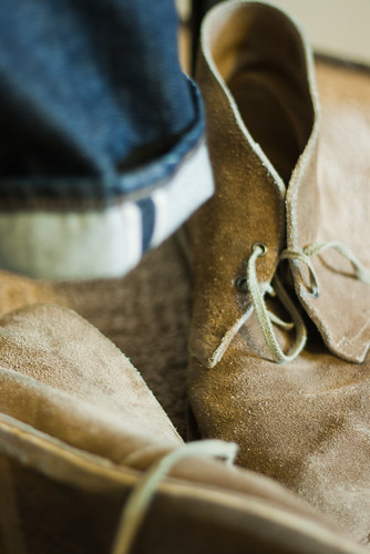 boot clothing jeans denim clarks selvage desertboots