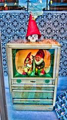 I Love Troll TV (Walker Dukes) Tags: sanfrancisco california xmas blue red black color hat television yellow canon skull gold tv screenshot hoffman topaz tvshot tvshots televisionshot topazadjust canons95