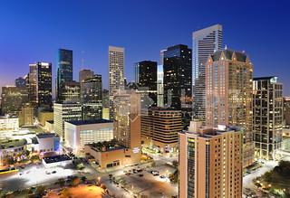 Houston Skyline - Blue Hour