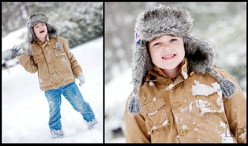 Snowy Diptych