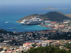 Skyline Overlook - Our Ship (benyeuda) Tags: island lookout caribbean overlook stthomas saintthomas niceview caribbeanprincess lookoutpoint amazingview caribbeancruise caribbeanisland islandofstthomas