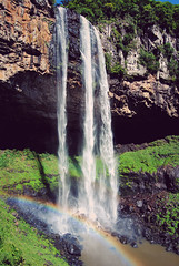 cascata do caracol (One life here with me and it's magic) Tags: park parque arcoiris waterfall rainbow do m cachoeira height caracol canela rainbox cascata 130m