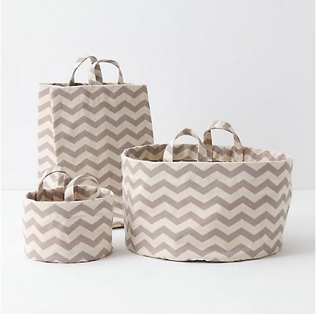 Mountain Peaks Bath Baskets by Lovell at Anthropologie