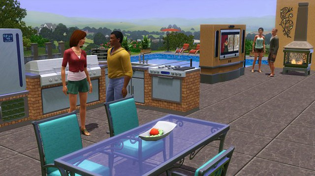 The Sims 3: Outdoor Living Stuff 5346881626_e2e908a750_z