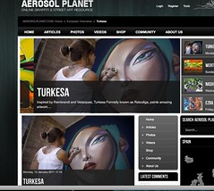 My last interview at Aerosol Planet (TURKESA (old profile)) Tags: interview turkesa rabodiga