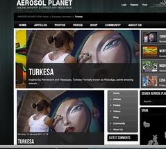 My last interview at Aerosol Planet (TURKESA (old profile)) Tags: interview turkesa rabodiga