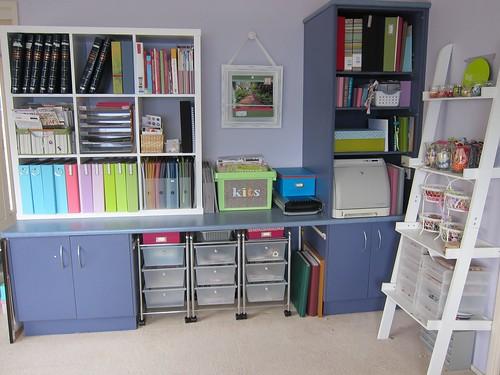 Scrapbook room updated (again)