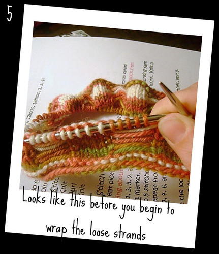Little Trunks Knits: Butterfly Stitch in the round TUTORIAL