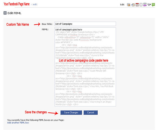 Coloring to facebook page by add custom tab | Anil Labs