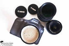 [ 4\4 ] ( Anoud Abdullah AlHabib) Tags: light white coffee canon eos all right 7d mug reserved lenses 500d