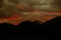 Sunset behind Jackson Hole Mountain Resort (Jeff Bernhard) Tags: mountains clouds jackson wyoming teton tetons grandteton jacksonhole grandtetonnationalpark gtnp