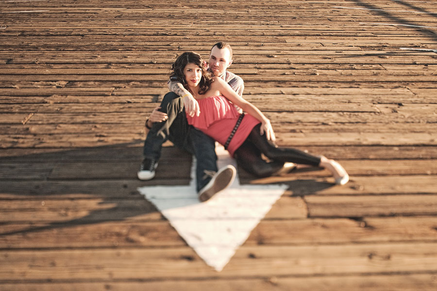 Santa Monica Pier Engagement photos, Los Angeles Wedding Photographer 004