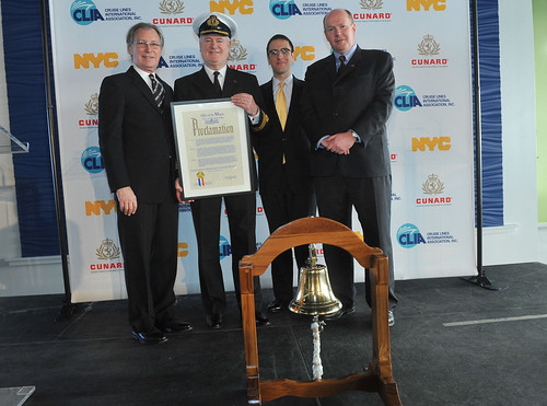 "City Proclamation of ""Cunard Royal Rendezvous Day"""