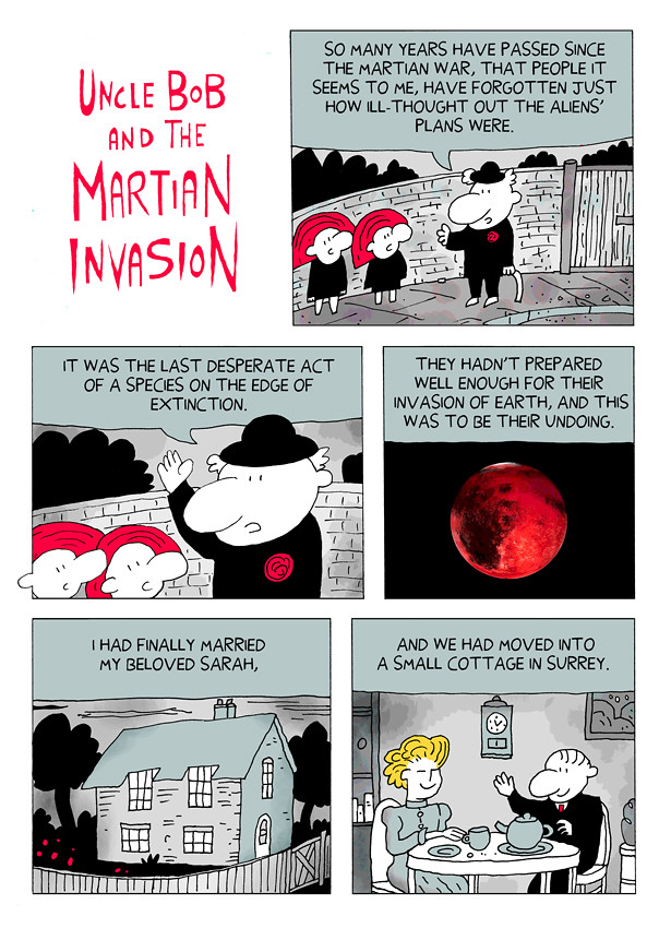 Uncle Bob and the Martian Invasion 1