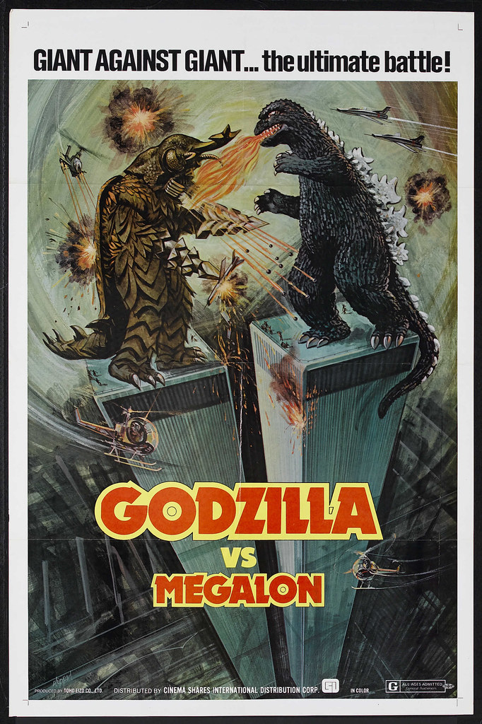 Godzilla vs. Megalon (Cinema Shares International, 1976)