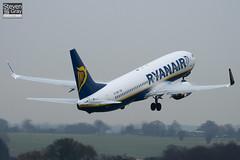 EI-DWO - 36079 - Ryanair - Boeing 737-8AS - Luton - 110106 - Steven Gray - IMG_7591