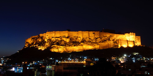 Mehrangarh Fort and the City