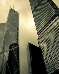 Hong Kong (Surrealplaces) Tags: skyscraper hongkong downtown torre impei bankofchina wolkenkratzer rascacielo gratteciel cesarpeli wolkenkarbber