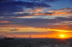 tees england sunsets (Rhannel Alaba) Tags: sunset england seascape by sunrise lens landscape photography nikon ship captured terminal bow 18 chemical tankers tees 105mm d90 nikor alaba odfjell rhannel bracaria