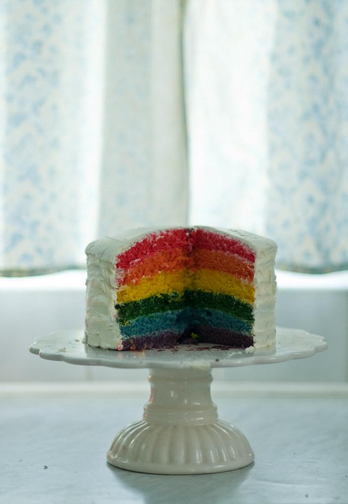 rainbow cake-6
