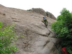 free solo (Gogolcat) Tags: india climbing ramanagaram