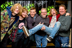 Cage The Elephant @ Radio 104.5 WRFF (Stephen Eckert) Tags: philadelphia acoustic studiosession cagetheelephant mattshultz radio1045wrff