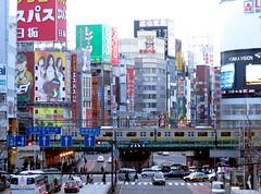 16/365: Stomping Ground (joyjwaller) Tags: city urban beauty japan tokyo shinjuku neon traffic pedestrians metropolis intoxication choas project365 stompingground shebeaharshmistress