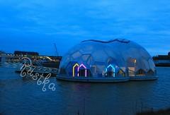 Rustka-4675 (rustka) Tags: rotterdam nightscene floatingpavilion