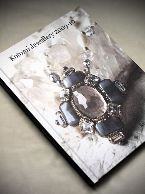My jewellery book for 2009-10 record.