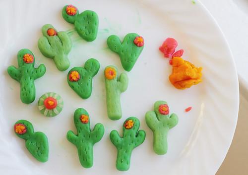 Marzipan Cactus