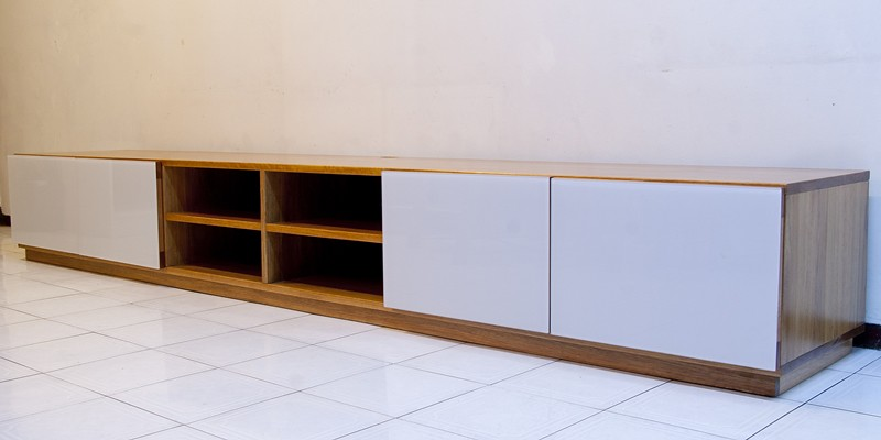 TV cabinet project