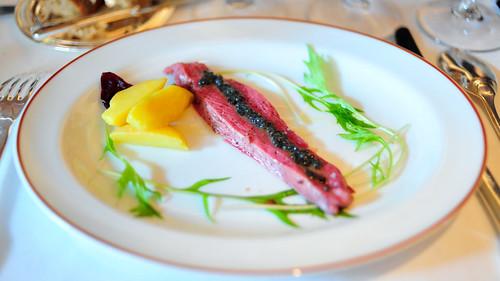 Canard au Caviar