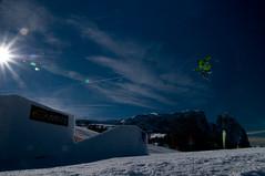 Big Air (Simon Profanter NEW) Tags: italien schnee winter people italy sun mountain snow mountains colour sport